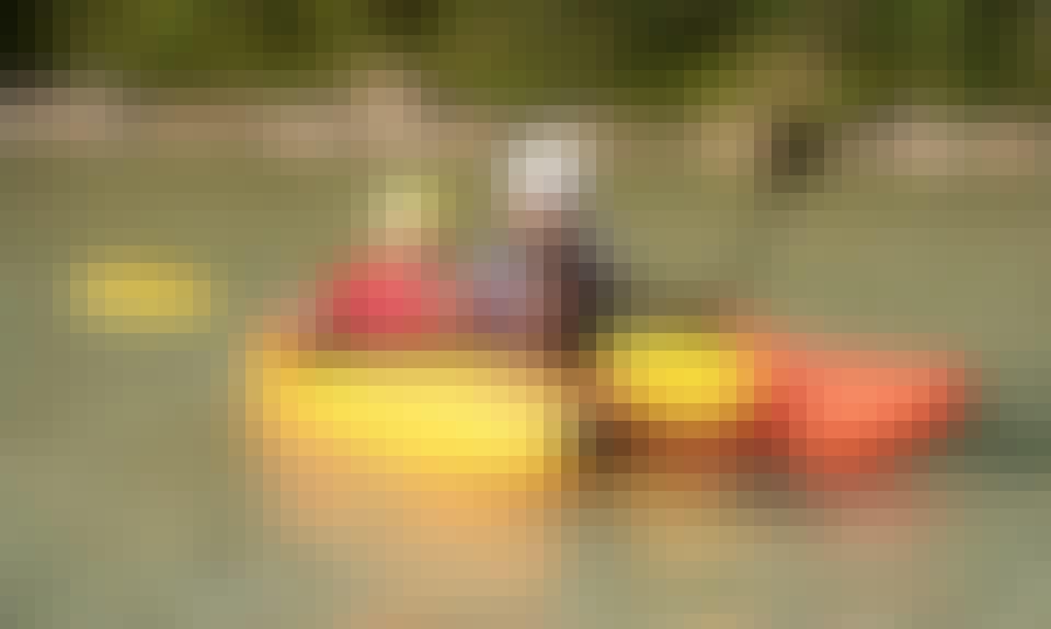 Kayak in Čezsoča