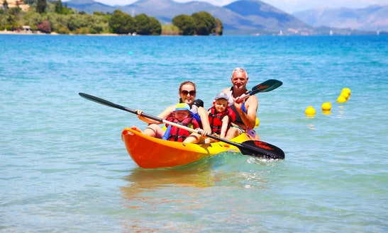 Kayak Hire, Lessons & Tours In Lefkada