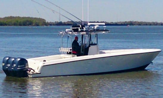 36' Center Console Fishing Boat In Venice, La