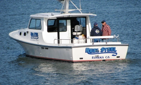 31 39 sport fisherman charter in eureka ca getmyboat for Eureka ca fishing