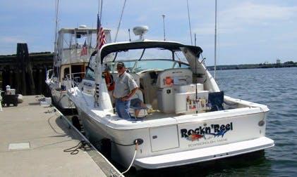 Cuddy Cabin Boat Fishing Charter in Bucksport, Maine