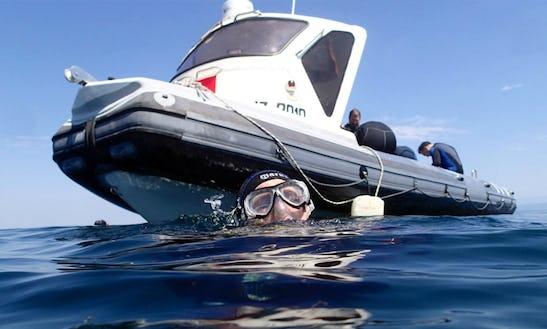 Boat Manta Diving Trips In Piran