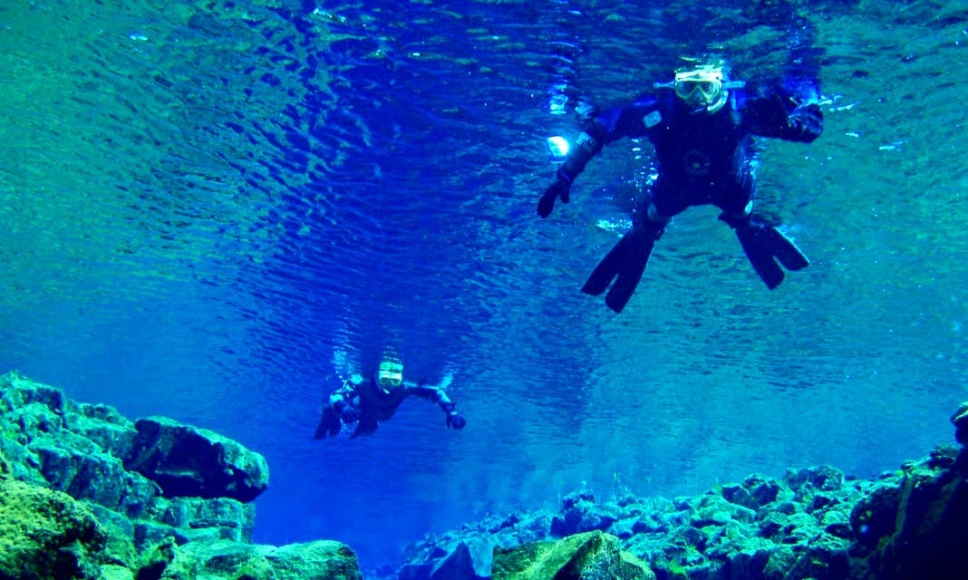 Dive Silfra and Lava Caving Tour for Snorkelers and Divers in Reykjavík, Iceland