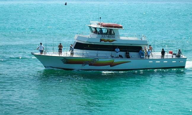 "Deep Sea Fishing Charter On 65ft ""Swop I"" Boat In Destin, Florida"