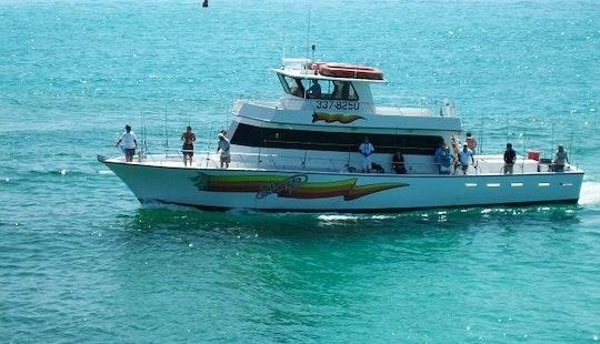 Deep Sea Fishing Charter On 65ft