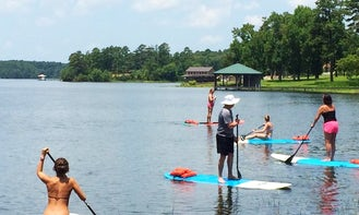 Paddleboard Rental & Lessons in Tyler, Texas