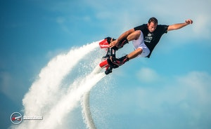 Flyboarding in Fort Lauderdale, Florida