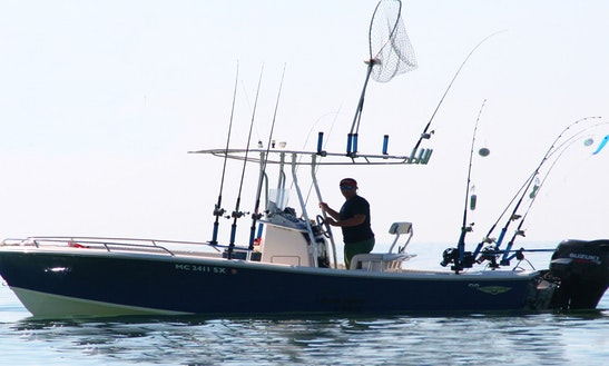 Fishing charters in traverse city for Michigan city fishing charters