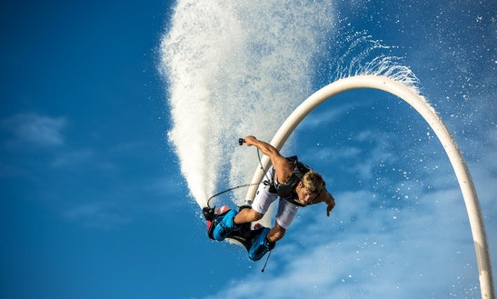 Flyboarding In Cogolin, France