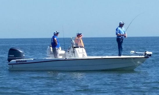 Guided Fishing Trips In Mississippi