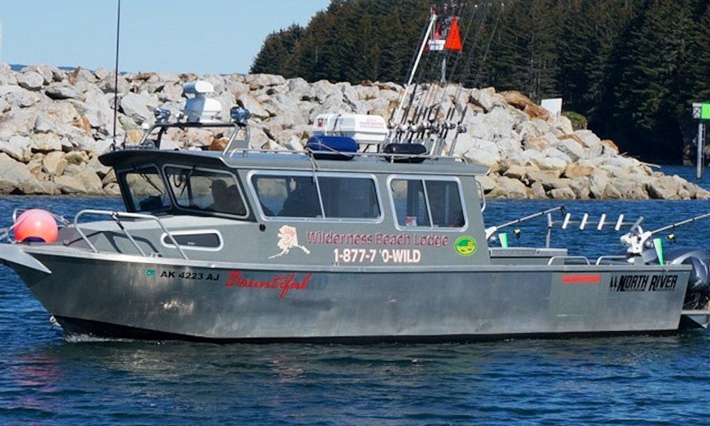 30ft fv bountiful trawler boat fishing charter in kodiak for Kodiak fishing charters