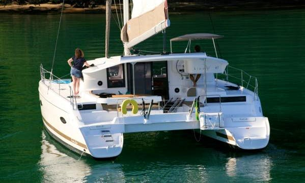 Charter a Fountaine Pajot Lipari 41 in Paraty