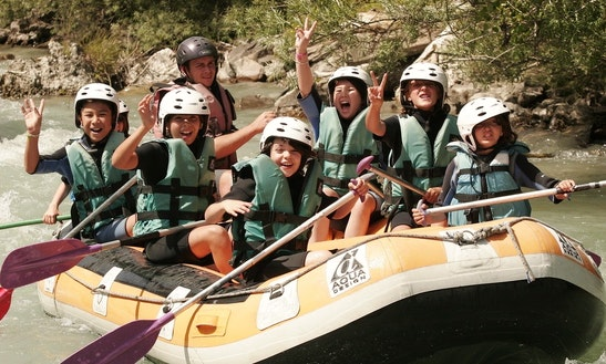 Rafting Trips In Saint-chaffrey, France