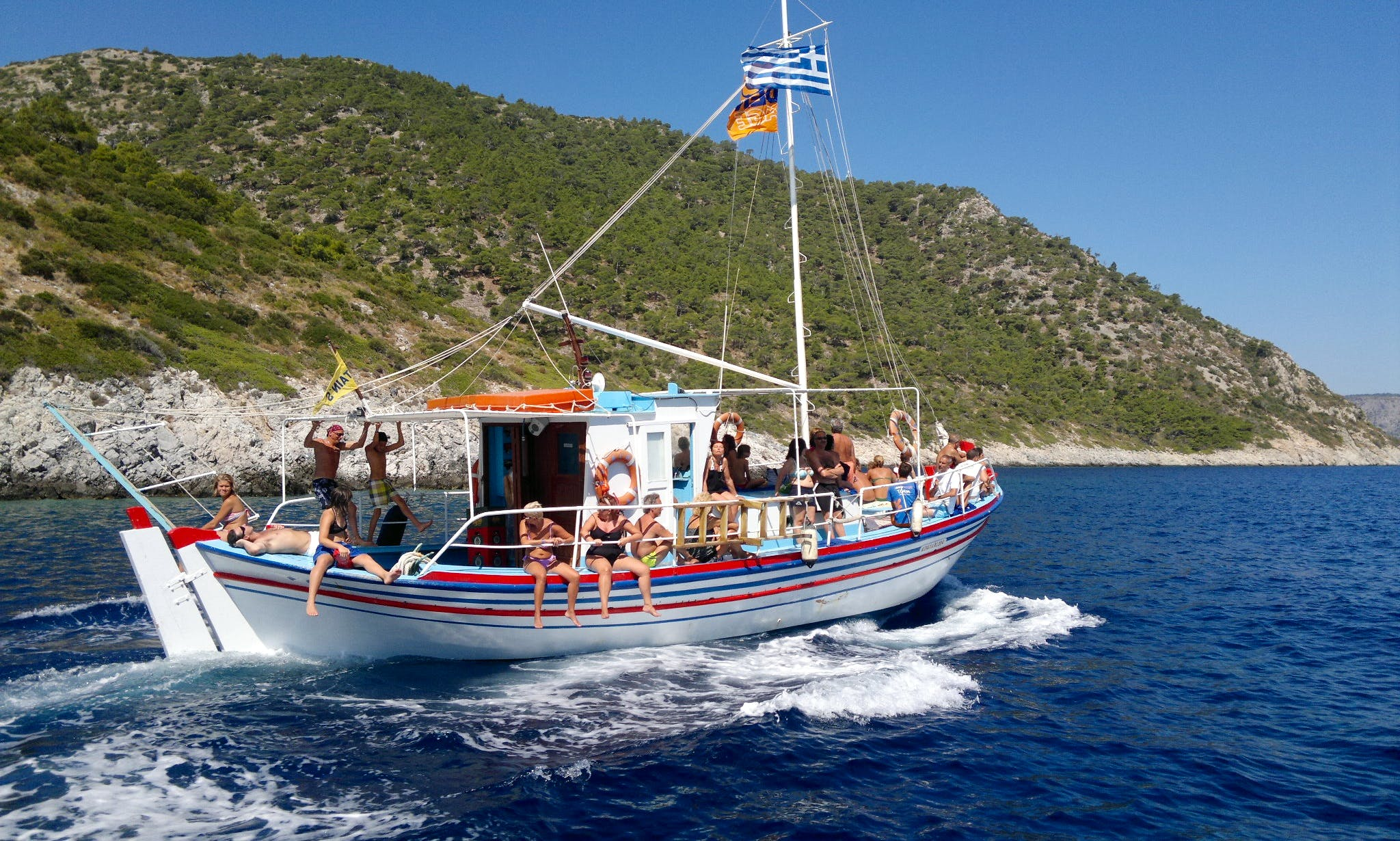 Captain's Boat Trips In Pithagorio