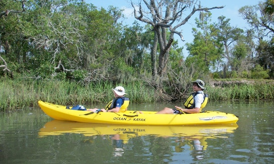 Tandem Kayak Rental & Tours In Tybee Island, Georgia