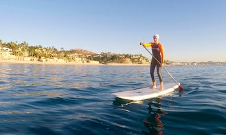 Stand Up Paddle Boarding Lesson In Playa Palmilla