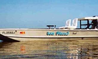 15' Custom Skiff Fishing Boat In Biscayne Bay