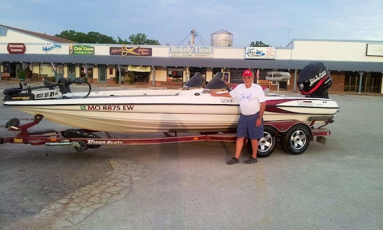 22' Triton Bass Boat In Kimberly City
