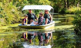 Water maze adventures in La Peche, Canada!