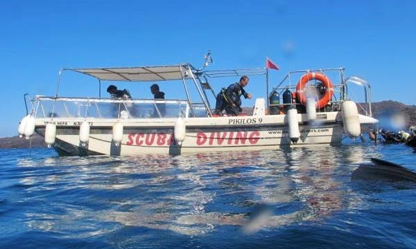 Diving Trips in Santorini, Greece