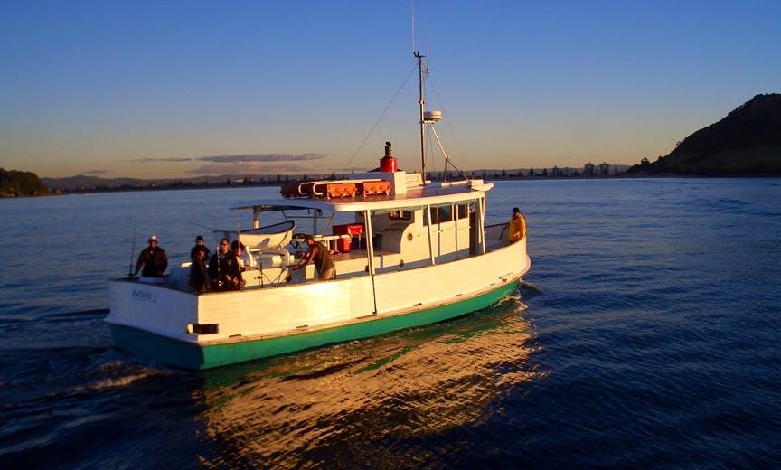 "49' Fishing Trip Charter ""Ratahi"" In Tauranga"