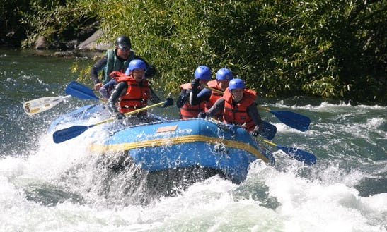 White Water Rafting On Trancura River, Pucón