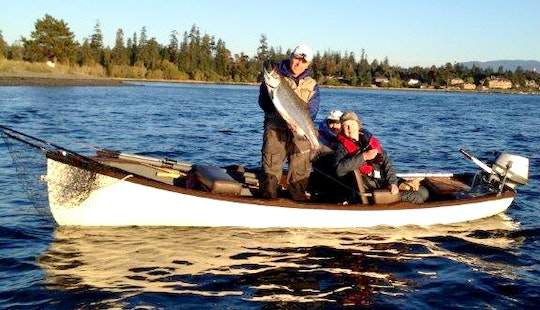 Tyee Fishing Rowboat In Campbell River