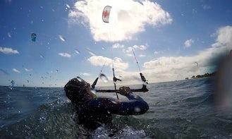 Kiteboarding in Playa del Carmen
