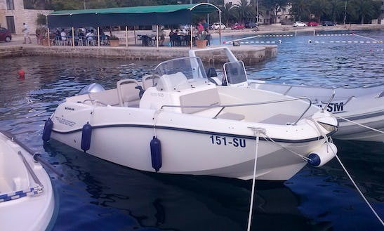 2014 Quicksilver 555 Activ Open Boat Rental In Sumartin, Croatia