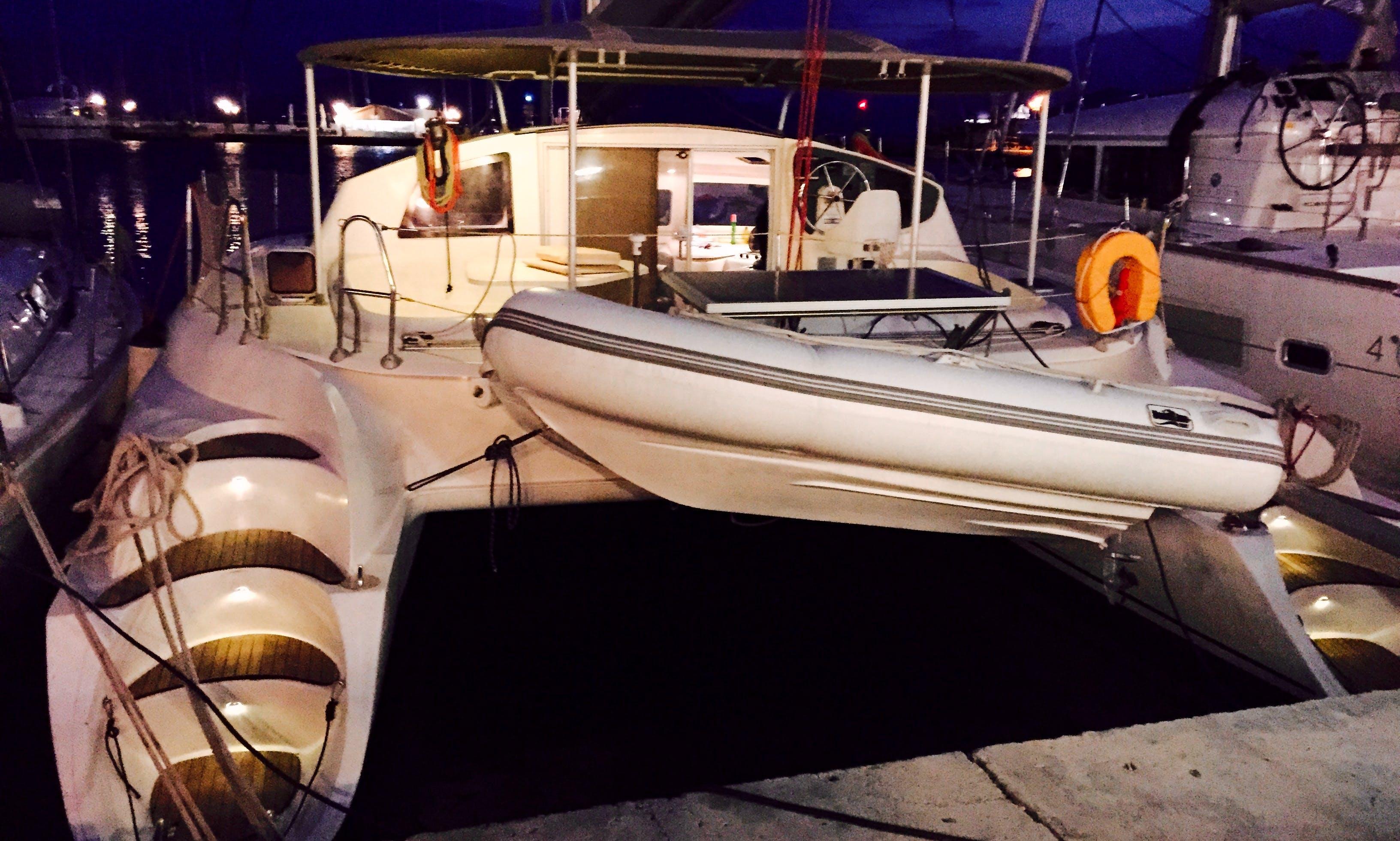 Fountain Pajot – Athena 38 Catamaran
