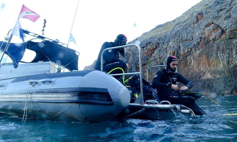 Try Scuba Diving In Chania