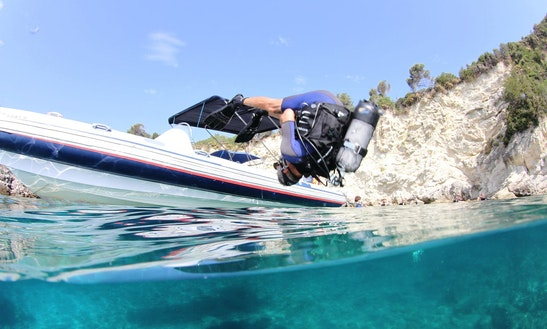 'fat Boy' Boat Diving Trips In Vasilikis