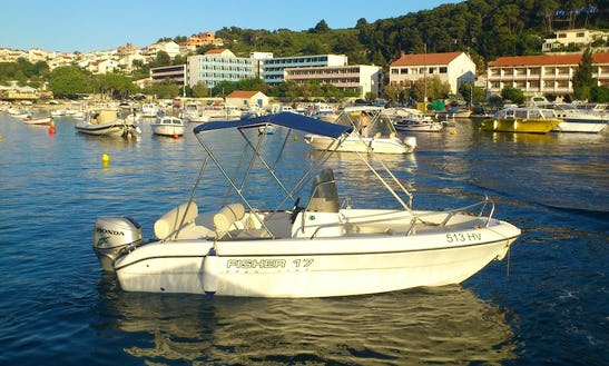 Fisher 17 60hp In Hvar