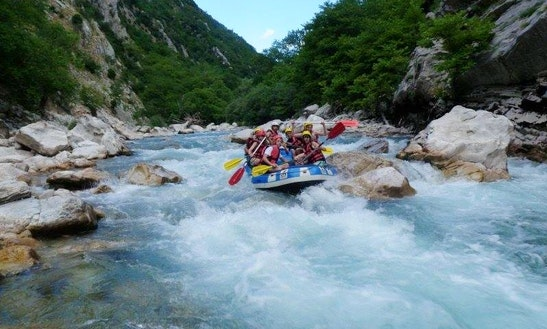 Rafting Trips In Vorios Tomeas Athinon, Greece