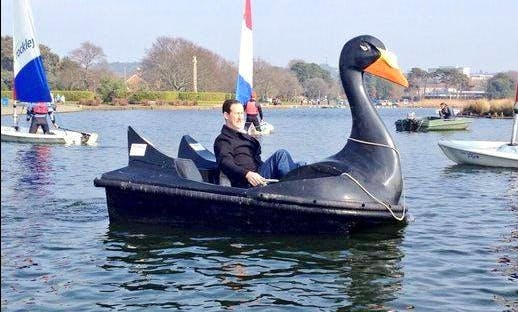 Hire Pedalo Boat At Poole Park