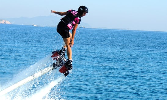 Flyboarding In La Ciotat, France