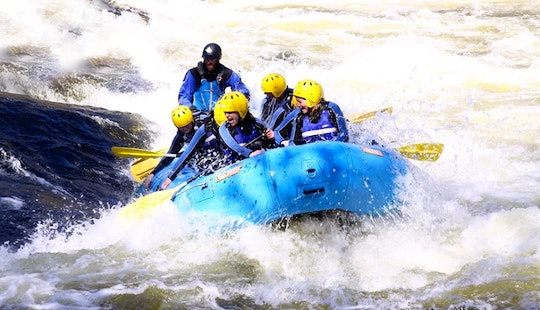 White Water Rafting On River Tay