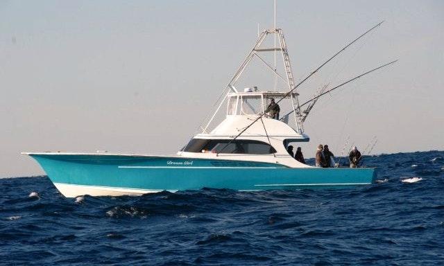 57ft Dream Girl Sport Fisherman Boat Fishing Charter In Nags Head North Carolina