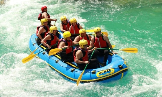 Long Rafting In Bovec