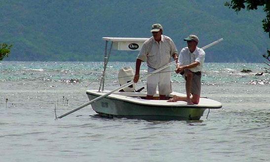 18' Poling Boat In Tortola