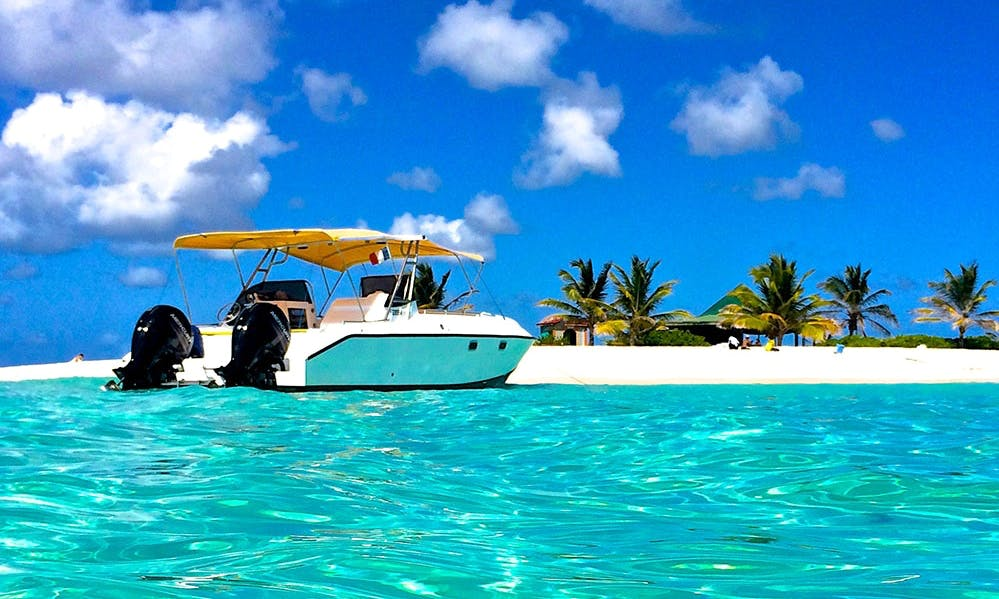 Power Cat 27 Boat Charter in Sint Maarten