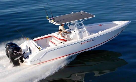 Donzi Zf 35 Boat Charter In Sint Maarten