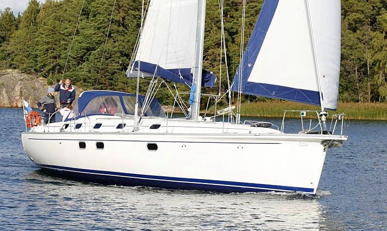 Gib Sea 51 Monohull Charter in Sweden