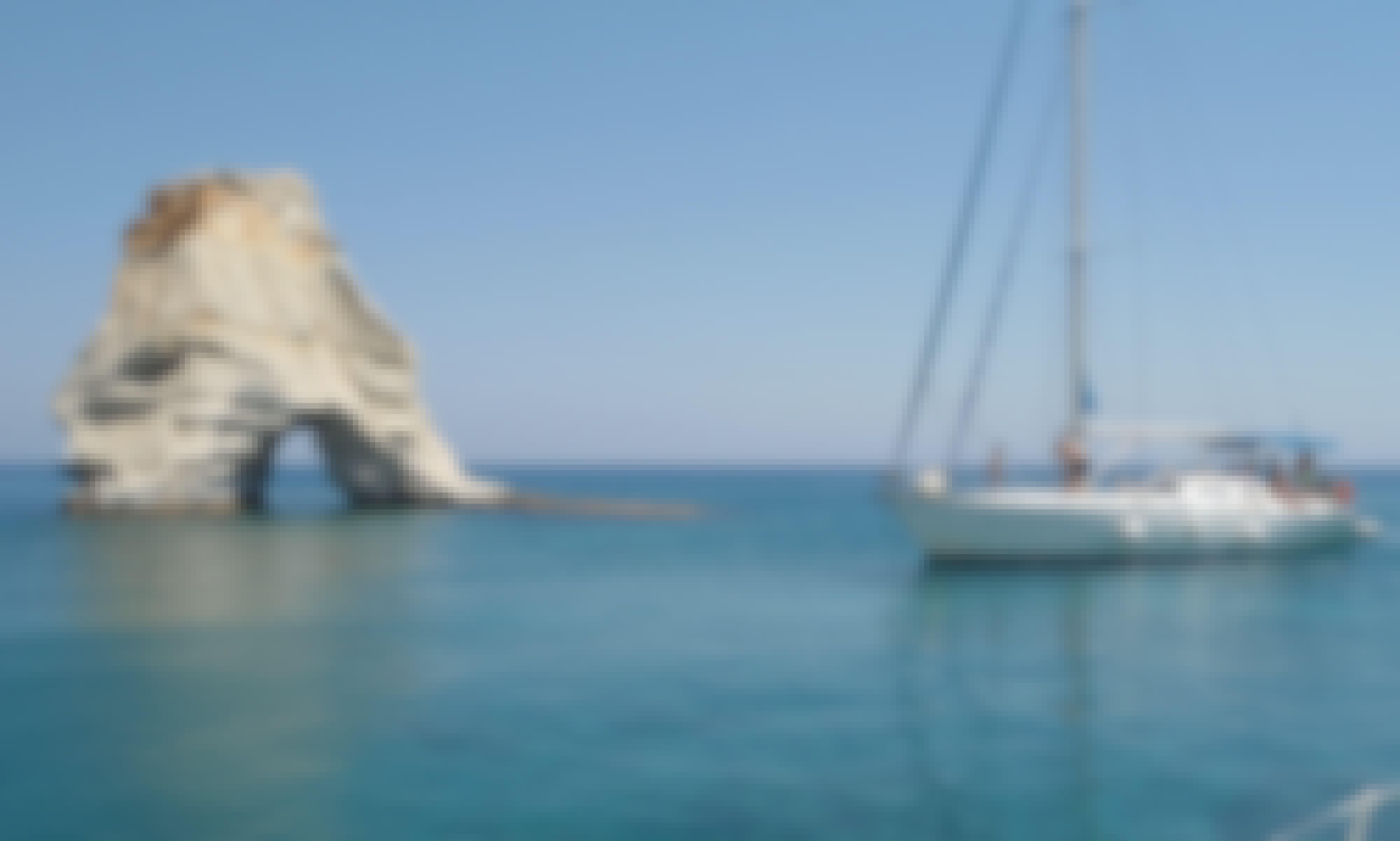 Enjoy Private Sailing  55' Dromor Venus Cruising Monohull In Milos,Greece