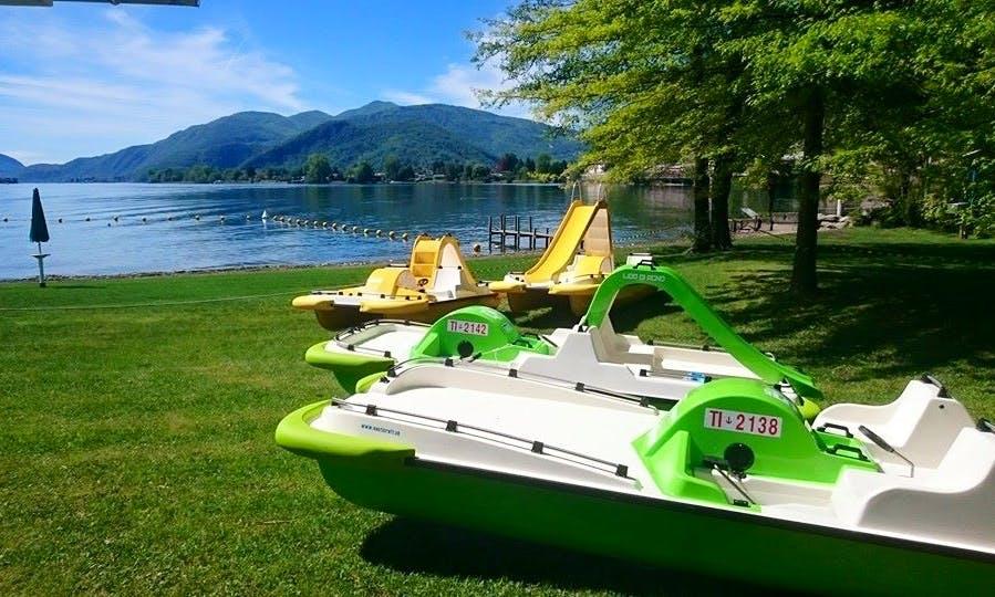 Paddle Boat in Agno