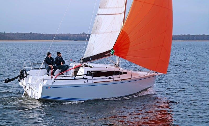 Maxus Evo 24 Sailboat Charter in Węgorzewo, Poland