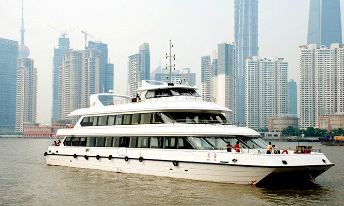 Explore Shanghai in Luxury on a Yacht