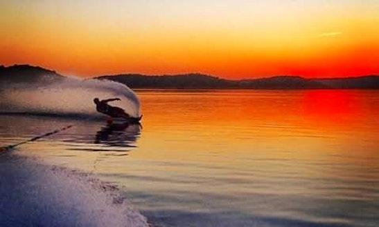 Wakeboarding In Kastoria, Greece