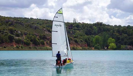 Sailing In Ruidera, Spain