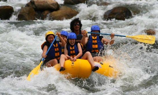 White Water Rafting On Kern River